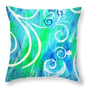 Whimsical By Jan Marvin Throw Pillow