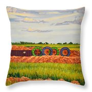 Whimsical Design Throw Pillow
