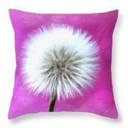 Whimsical Wishes Throw Pillow