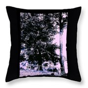 Whimsy Timber Throw Pillow