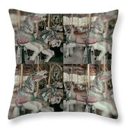 Whinny Throw Pillow