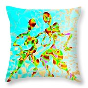 Whirling Tango Throw Pillow