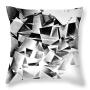 Whirlstructure I Throw Pillow