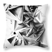 Whirlstructure II Throw Pillow