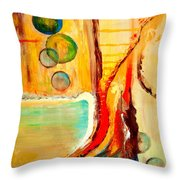 Whirlwind I Throw Pillow