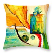 Whirlwind II Throw Pillow