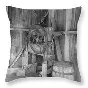 Whiskey Barrel  Throw Pillow