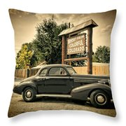 Whisky From Colorful Colorado Throw Pillow