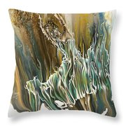 Whisper Throw Pillow by Karina Llergo