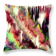 Whisper Throw Pillow by Karunita Kapoor