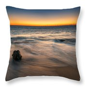 Whisper Of The Waves  Throw Pillow