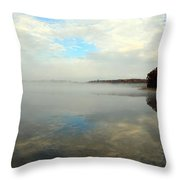 Whispering Skies Throw Pillow