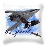 Whispering Spirit Throw Pillow