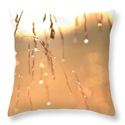 Whispers In The Horizon Throw Pillow