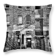 Whispers In The Windows  Throw Pillow