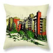 Whistler Art 004 Throw Pillow