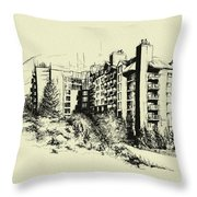 Whistler Art 007 Throw Pillow