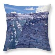 Whistler Glaciers Sc125-05 Throw Pillow