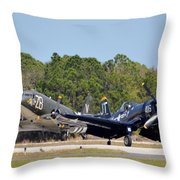 Whistling Death And Tico Belle Throw Pillow