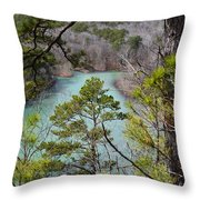 Whistling Pines Throw Pillow