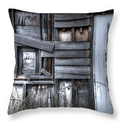 White Door. Throw Pillow