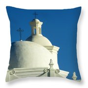 White Dove Of The Desert Throw Pillow