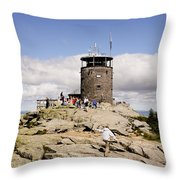 White Face Lookout Throw Pillow