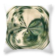 White Gold Ball Throw Pillow
