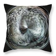 White Hole Throw Pillow