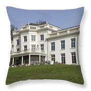 White House In Sonsbeek Park In Arnhem Netherlands Throw Pillow