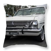 White Hr Throw Pillow