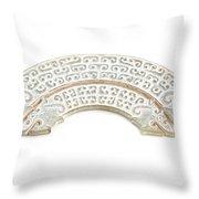 White Jade Throw Pillow