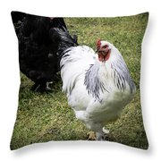 White Meat Or Dark Meat Throw Pillow