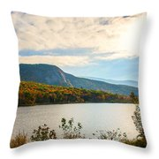 White Mountain Range Throw Pillow