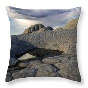 White Pocket Arizona 1 Throw Pillow