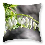 White Queen Throw Pillow
