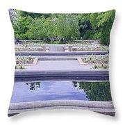 White River Gardens Throw Pillow