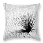 White Sands 07 Throw Pillow