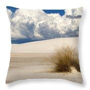 White Sands Cross Throw Pillow