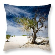 White Sands National Monument #1 Throw Pillow