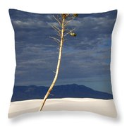 White Sands National Monument 2 White Sands New Mexico Throw Pillow
