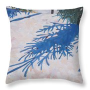 White Spruce Throw Pillow