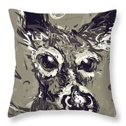 White-tailed Deer 2 Throw Pillow