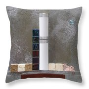 White Tower Throw Pillow