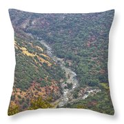 White Waters Throw Pillow