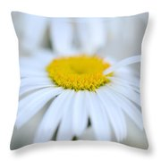 White Wedding Throw Pillow