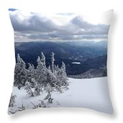 Whiteface Mountain View On Sale Now Throw Pillow