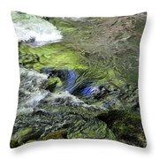 Whitehorse Falls Series 4 Throw Pillow