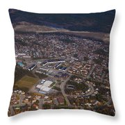 Whitehorse Riverdale Yukon Territory Canada Throw Pillow