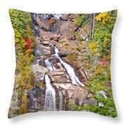 Whitewater Falls Vertical Throw Pillow